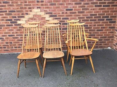 vintage mid century furniture Ercol Chairs
