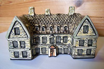 Larger Tey Pottery  Haycock Inn  Wandsford  Britain in Miniature Series  Cottage