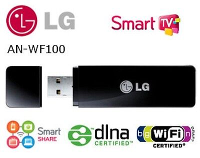 WIRELESS WI-FI LG AN-WF100 adapter for LG Smart TVs