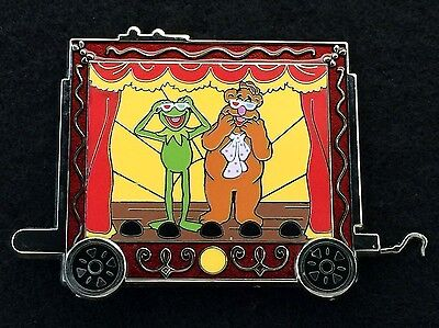 Disney Trading Pin - WDW Character Train The Muppets Kermit Frog Fozzie - 90846