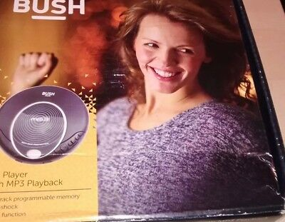 Bush Cd Player With Mp3 Playback - Anti Shock - Black