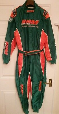 Go kart rotax sparco suit brm racing size 150
