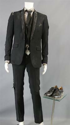 Sleepy Hollow Malcolm Screen Worn Stunt Double Suit Shirt Tie & Shoes Ep 406