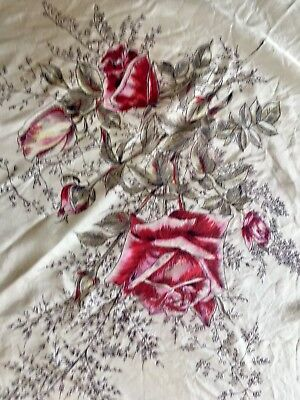 1950s Scarf Roses