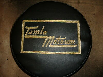 Gold/Black TM Scooter Wheel Cover