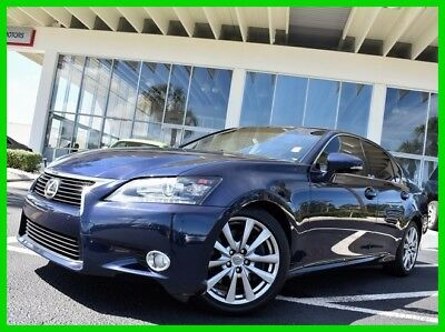 2013 Lexus GS 350 2013 350 Used 3.5L V6 24V Automatic RWD Sedan Premium Moonroof