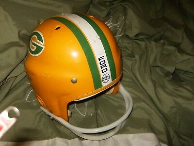 Macgregor E7J Youth Large Packers Helmet 1960's