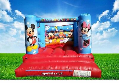 For Sale Mickey & Minnie Mouse Bouncy Castle 10Ft X 12Ft 8Ft High