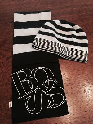Gorgeous Boys Hugo Boss Hat And Scarf Set