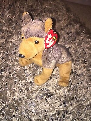 SARGE TY toy Dog Beanie Baby