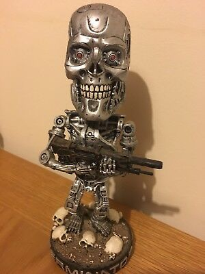 Neca Head Knocker - terminator endoskeleton - very well detailed