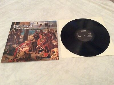 "Bolt Thrower ""The IVth Crusade"" original 1992 LP on Earache."