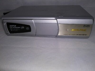 ALPINE CHA-S634 6 Disk MP3 CD Changer With Magazine No Mounting Brackets