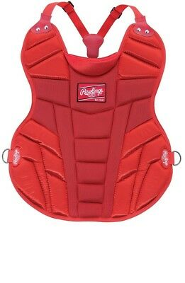 (Scarlet) - Rawlings Junior Blackhawk Chest Protector. Brand New