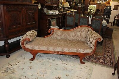 Beautiful American  Antique  Sofa / Love Seat / With New Upholstery.
