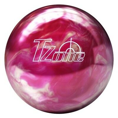 (2.7kg) - Brunswick T Zone Pink Bliss PRE DRILLED Bowling Ball. Delivery is Free