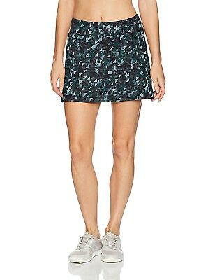 (Small, Love Triangle Print) - Skirt Sports Women's Gym Girl Ultra Skirt