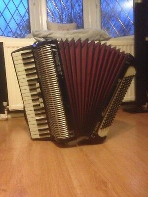 Accordion, Vintage 120 Bass Soprani Recanati