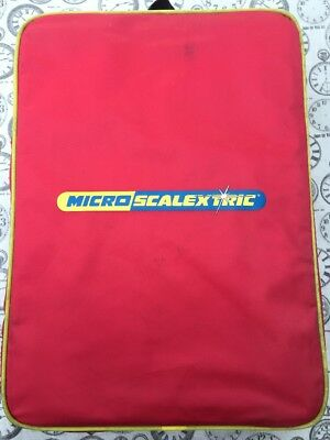 Scalextric Micro Track Loop Set With Cars and Rucksack