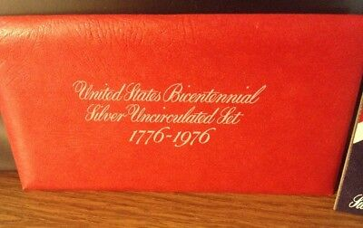 U.S. Bicentennial Silver Uncirculated Set 1776-1976 S