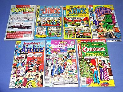 Archie Lot Betty and Veronica Me Everything's Dilton's Strange Science Lil Jinx