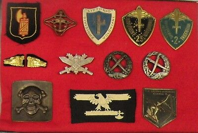 W.w.ii Original Italian Badges & Patches
