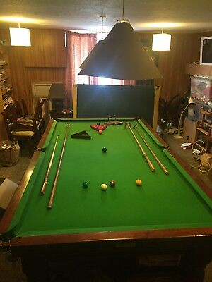 Snooker Table, good condition antique 3/4 sized table.