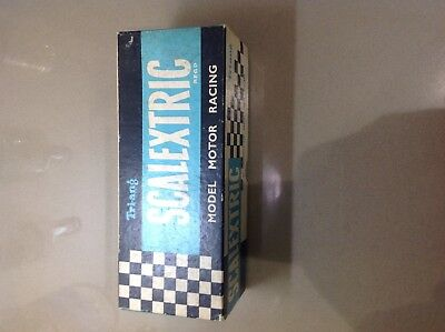 Vintage Triang Scalextric C64 Bentley green dot (Original Box And Inner Only)