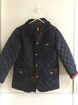Boys Joules Navy Padded Jacket Age 6