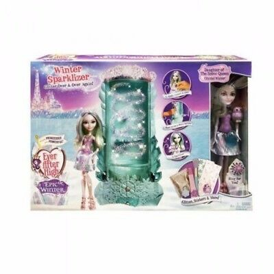 Ever After High Glitter Epic Winter Sparklizer & Crystal Winter Doll