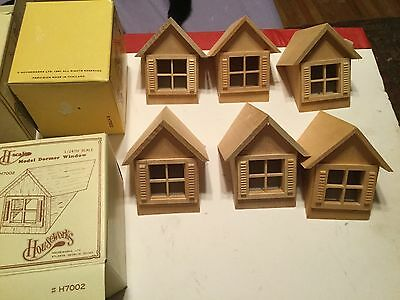 1:24 scale dormers,with windows.NOS