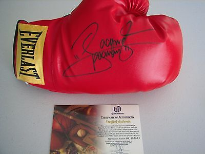 Manny Pacquiao Autographed Boxing Glove - GAI