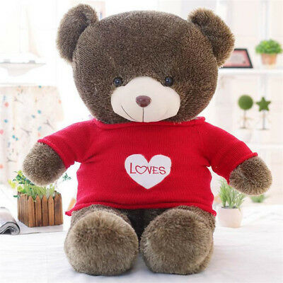 60CM Plush Stuffed Teddy Bear Xmas Christmas gift Soft 100% Cotton Toy Best Gift