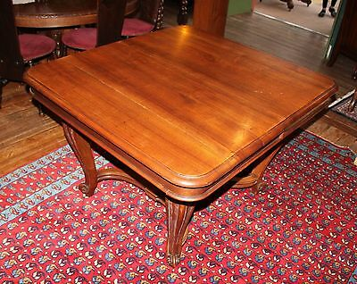 Beautiful Antique French Walnut Kitchen Table