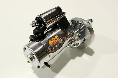 Ford Starter Motor Chrome 3Hp Reduction Clevland-Windsor 302-351 Suit Automatic