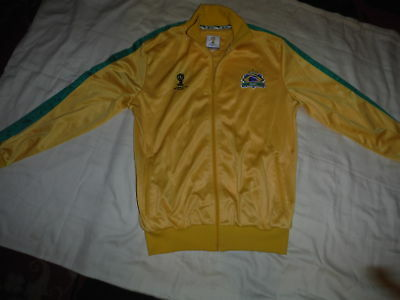 Brazil World Cup 2014 Zipped Top Aged 13