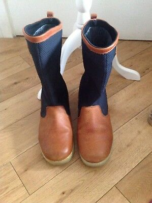 Musto Performance Grip Deck boots size 12