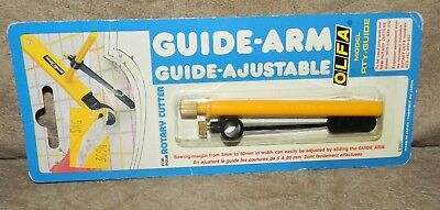 GUIDE ARM AJUSTABLE OLFA RTY-GUIDE for ROTARY CUTTER new old stock sealed 03661