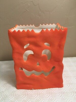 Partylite Party Lite Halloween Pumpkin Luminary Candle Holder P7254