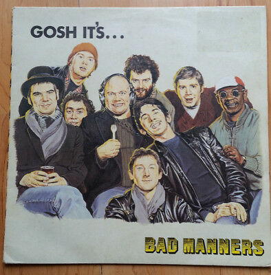 BAD MANNERS Gosh It's Bad Manners LP (1981) MAGL5043