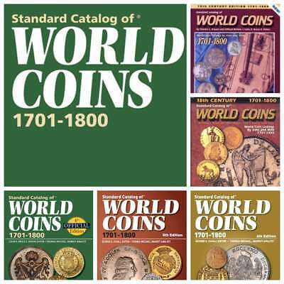 17 KRAUSE Standart Catalogs of World COINS 17th, 18th, 19th Century PDF Digital