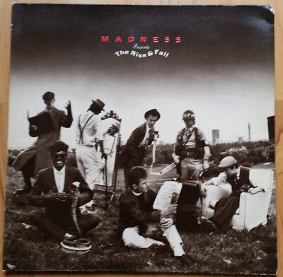 MADNESS Presents The Rise & Fall LP (1982) SEEZ46 G/Fold