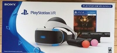 PLAYSTATION VR RUSH OF BLOOD BUNDLE (W/ Camera, Move Controllers)