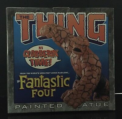 Marvel Limited The Thing Fantastic Four Painted Statue 1st in Series