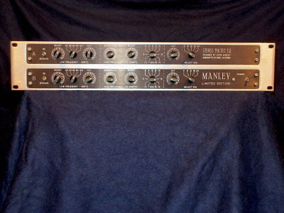 MANLEY 'LIMITED EDITION' STEREO 'PULTEC' EQ (used)