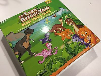 The Land Before Time The Great Valley Game Pressman 2007 COMPLETE SHIPS FAST