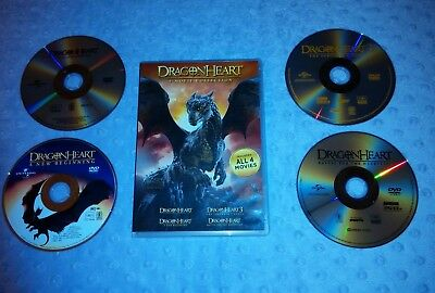 Dragonheart: 4-Movie Collection (DVD, 2017, 4-Disc Set)