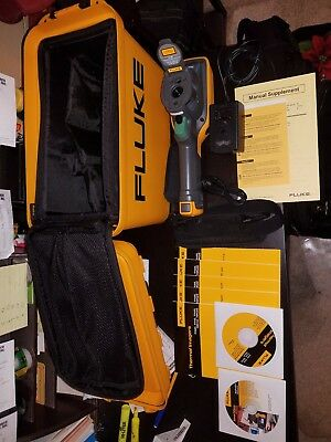 Fluke Tir 110 Thermal Imager good condition Yellow with gray trim