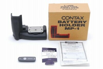 【AB Exc+】 Contax 645 Camera MP-1 Vertical Battery Grip w/ Box From JAPAN Y3207