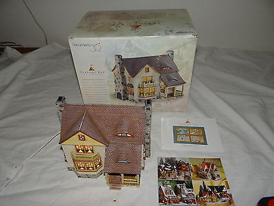 Dept 56 Seasons Bay #53404 Inglenook Cottage 1998 Ceramic Lighted Building